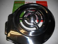 Polished stainless steel fan cowling   deep type